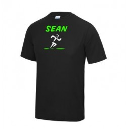 Men's Short Sleeve Tech Tee With Name