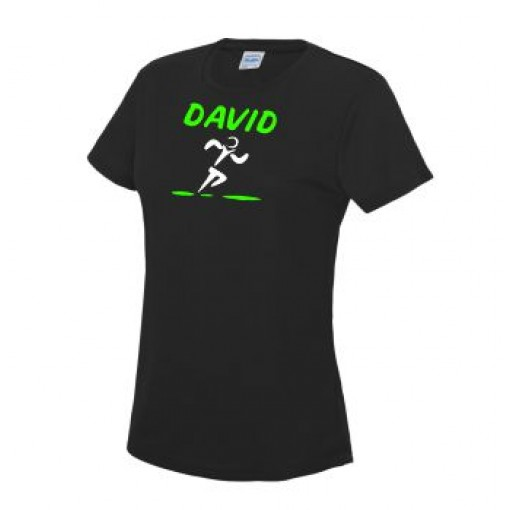 Women's Short Sleeve Tech Tee With Name