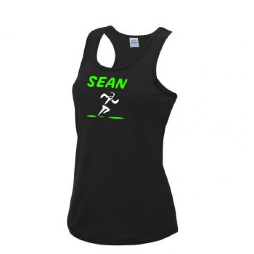 Women's Tech Vest With Name